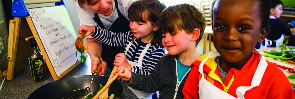 Improving childhood nutrition