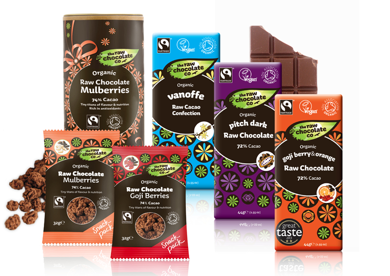 Raw Chocolate Company Product Selection Better Food