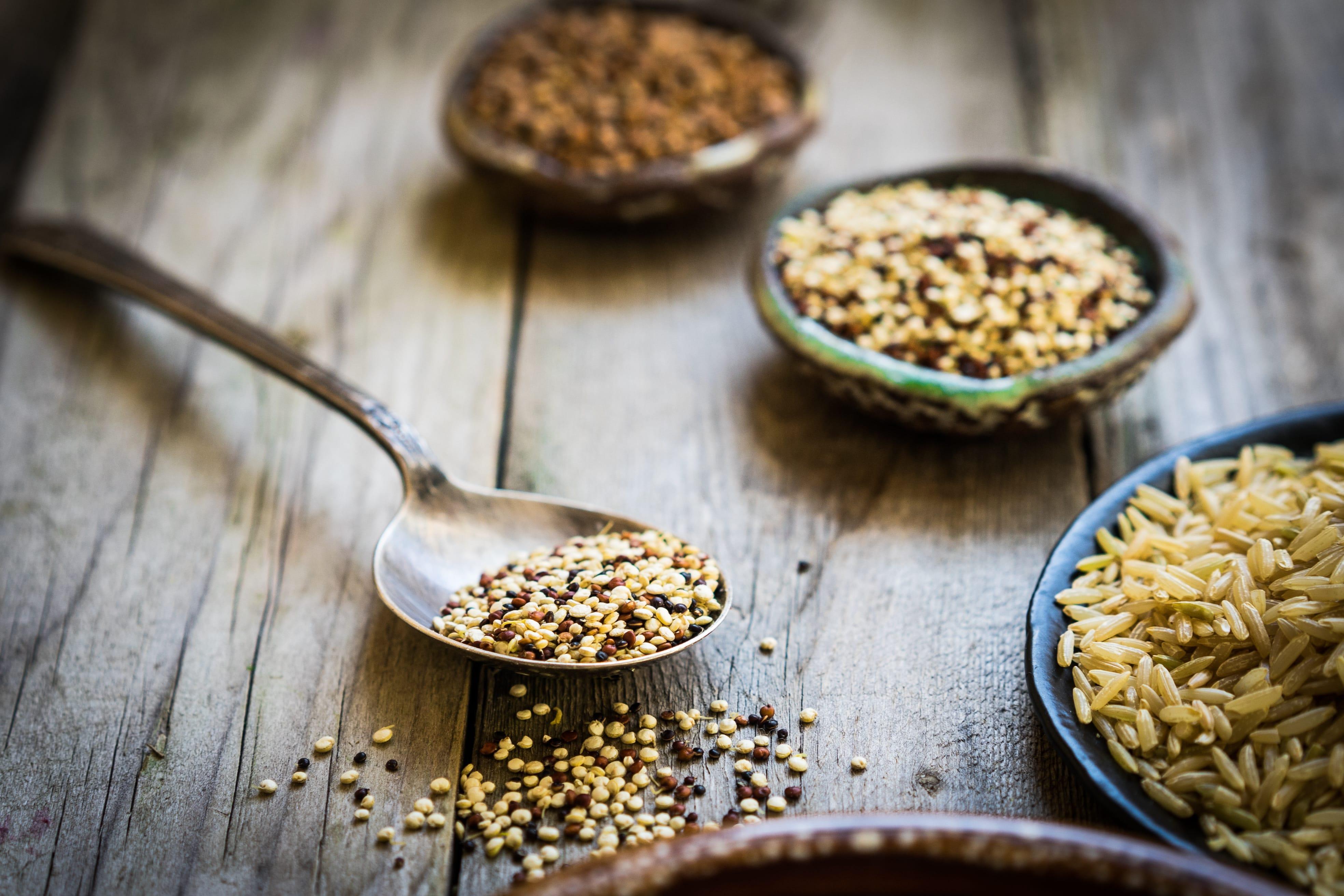 Seasonal and local guide: grains