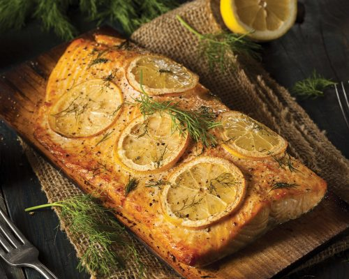 Zesty Slow-Baked Salmon