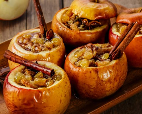 Baked Apples with Date Sugar – Zero Waste Recipe