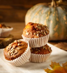 Vegan Pumpkin Muffins