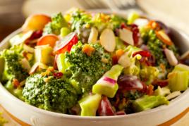 Zero waste Broccoli Stalk Salad