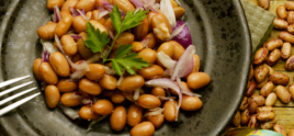 Warm Fresh Borlotti Bean Salad