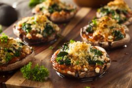 Stuffed Marinated Mushroom Steaks
