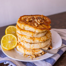 Vegan Scotch Pancakes
