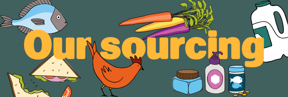 Our sourcing