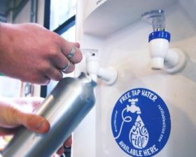 Free Water Refills across the City!