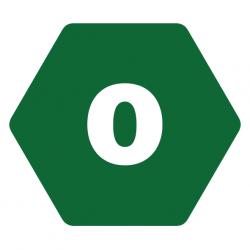 Organic dietary symbol