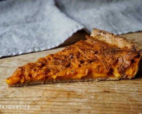 Pumpkin quiche