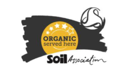 Organic Served Here 4 stars