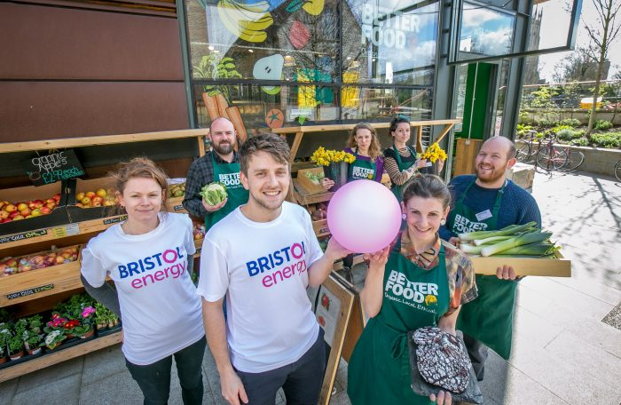Bristol Energy, better food, bristol, energy, partnerships, organic, ethical