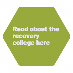 recovery college_hexagon spring green