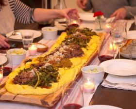 TUTTI A TAVOLA! A FEAST OF POLENTA ON THE TABLE: 24th Nov