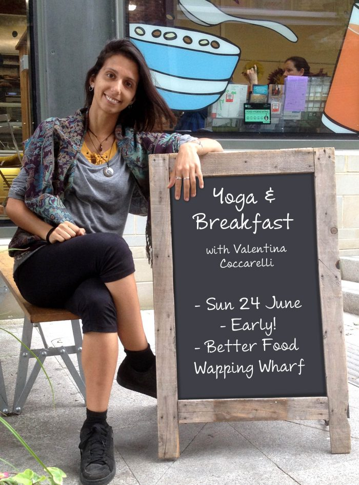 yoga, bristol, streets to kitchen, wapping wharf, better food, health, wellbeing, event, events, fundraiser