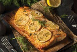 Zesty Slow-Baked Salmon